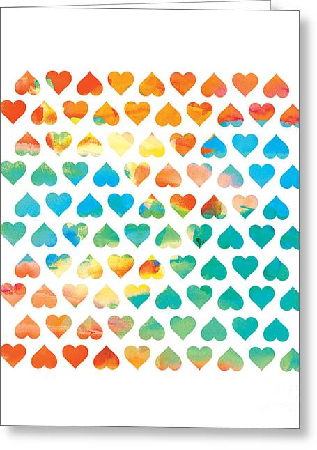 Color Digital Art Greeting Cards - Be Mine Greeting Card by Budi Satria Kwan