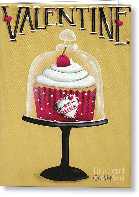 Frosting Greeting Cards - Be Mine Valentine Greeting Card by Catherine Holman