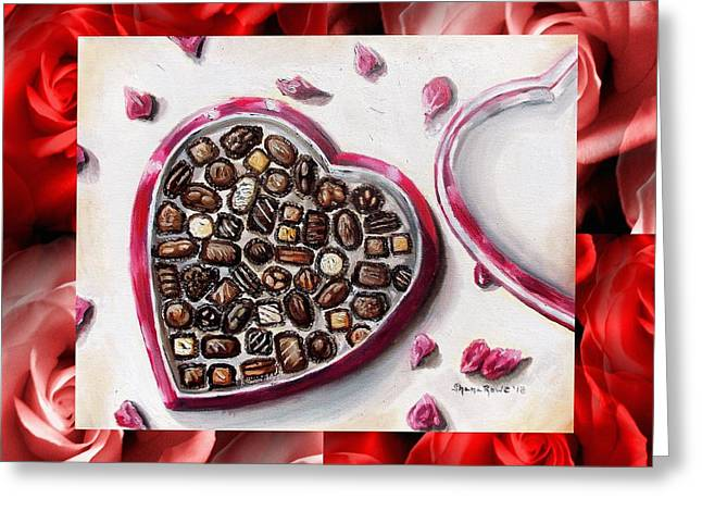 Be My Valentine Greeting Card by Shana Rowe Jackson