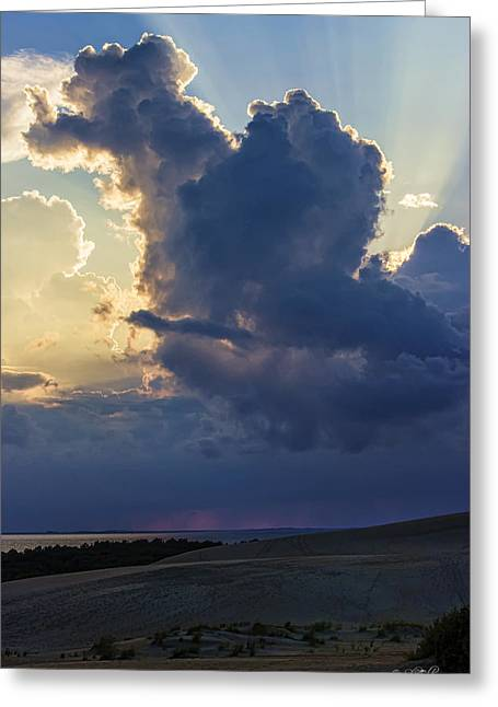 Skip Tribby Greeting Cards - Be Still and Know That I am God Greeting Card by Skip Tribby