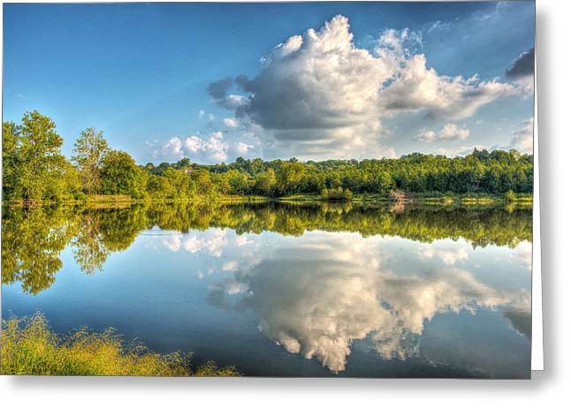Vale Greeting Cards - Be the Stream of the Universe Greeting Card by William Fields