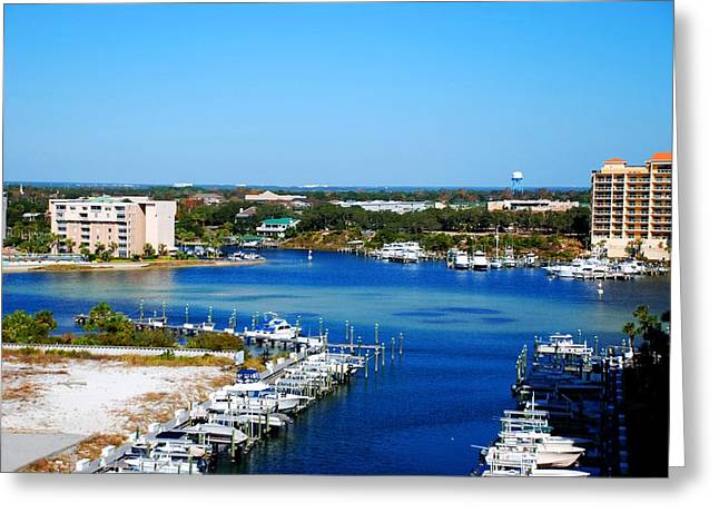 Panama City Beach Greeting Cards - Beach 10 Greeting Card by Andy Savelle