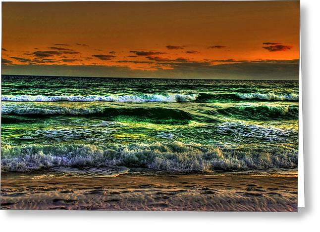 Panama City Beach Greeting Cards - Beach 13 Greeting Card by Andy Savelle