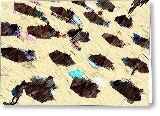 And Sand-mix Greeting Cards - Beach 2 Greeting Card by Bruce Iorio