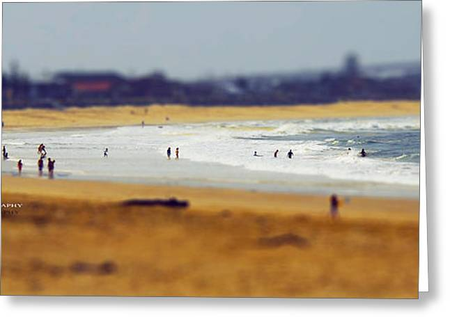 Stockton Greeting Cards - Beach Break Greeting Card by Andrew Prince