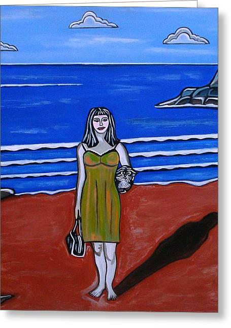 Sandra Marie Adams Greeting Cards - Beach Chic Greeting Card by Sandra Marie Adams