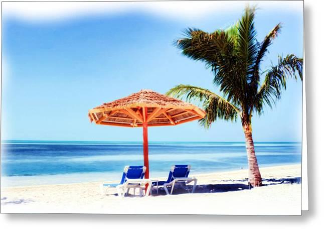 Beach Dreams 1 Greeting Card by Mel Steinhauer