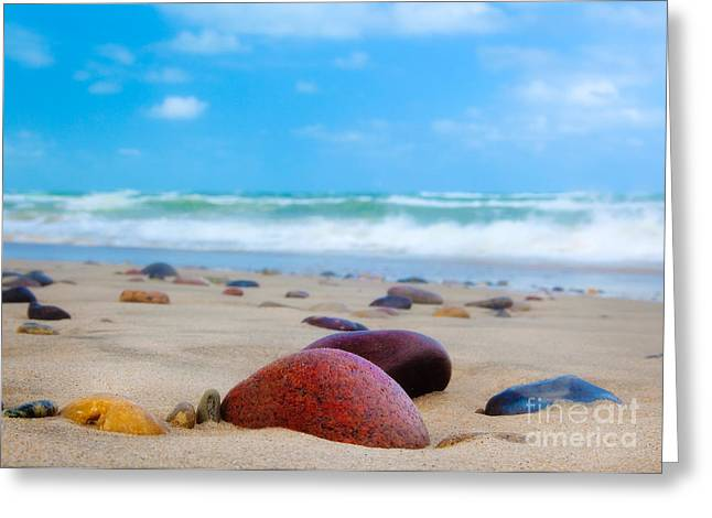 Beach Dreams In Skagen Greeting Card by Inge Johnsson