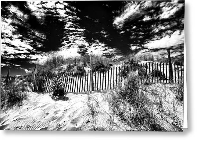Beach Haven Greeting Card by John Rizzuto