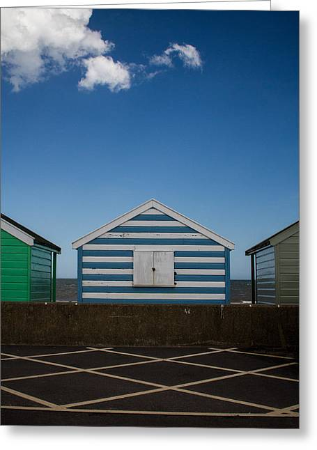 Dayne Greeting Cards - Beach Hut 41 Greeting Card by Dayne Reast