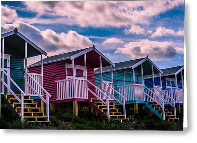Kent Photography Greeting Cards - Beach Huts Greeting Card by Dawn OConnor
