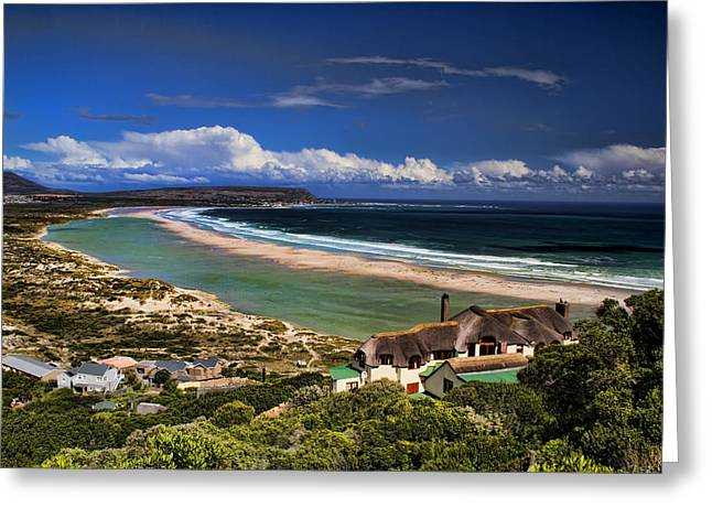 Scenic Farm Greeting Cards - Beach in Noordhoek South Africa  Greeting Card by David Smith