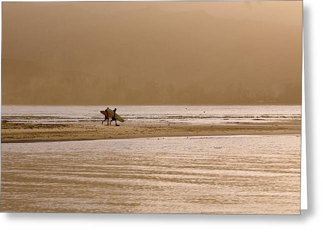 Surf Lifestyle Greeting Cards - Beach, Kauai, Hawaii Greeting Card by Keith Levit