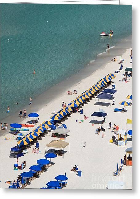 Beach Life  Greeting Card by Jennifer E Doll