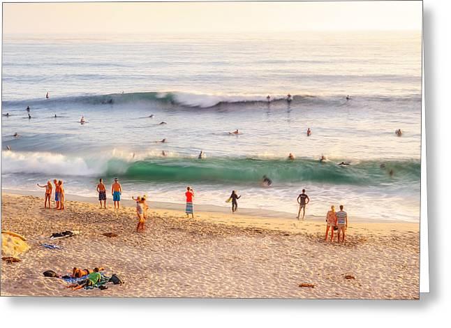 Beach Life Greeting Card by Shuwen Wu