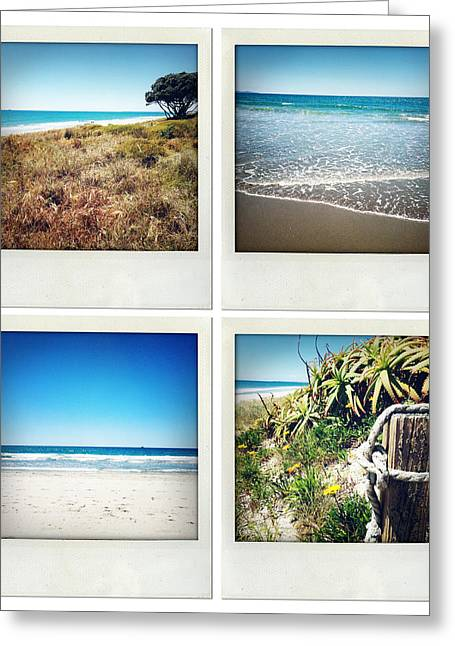 Water Photographs Greeting Cards - Beach memories Greeting Card by Les Cunliffe