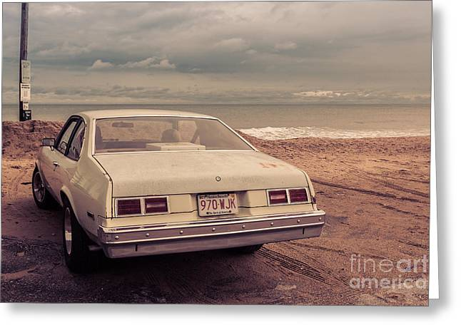 Pick-ups Greeting Cards - Beach Memories Salisbury Beach MA Greeting Card by Edward Fielding