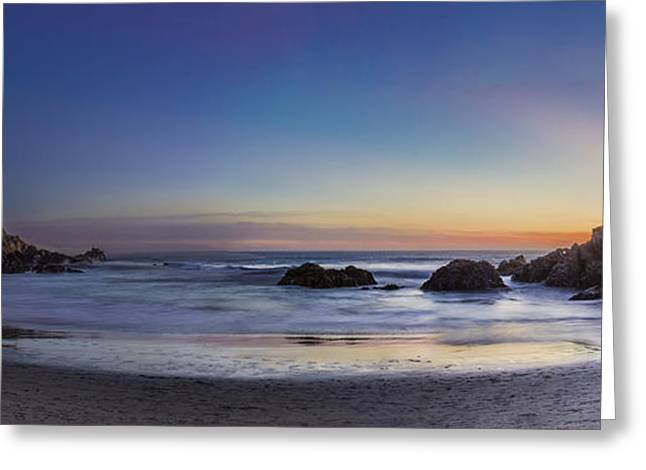 Recently Sold -  - Pfeiffer Beach Greeting Cards - Beach Oasis Greeting Card by Jeremy Jensen
