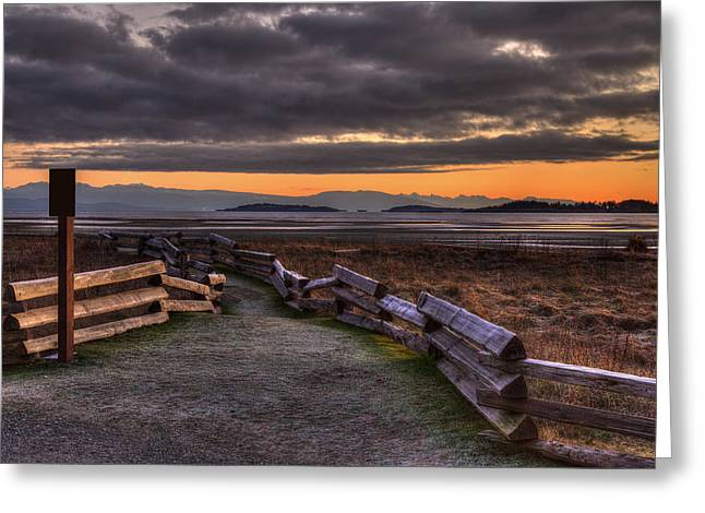 Provincial Park Bc Greeting Cards - Beach Path Greeting Card by Randy Hall