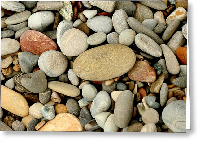 Montana De Oro Greeting Cards - Beach Rocks Greeting Card by Art Block Collections