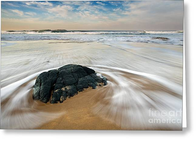 Sandy Beaches Greeting Cards - Beach Greeting Card by Rod McLean