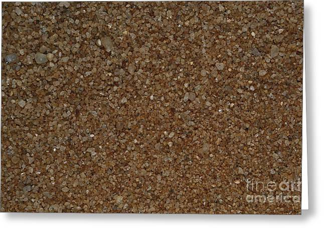 Zimbabwe Greeting Cards - Beach Sand From Zimbabwe Greeting Card by Gregory G. Dimijian, M.D.