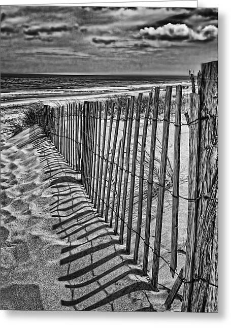 Errosion Greeting Cards - Beach Shadows Greeting Card by Boyd Alexander
