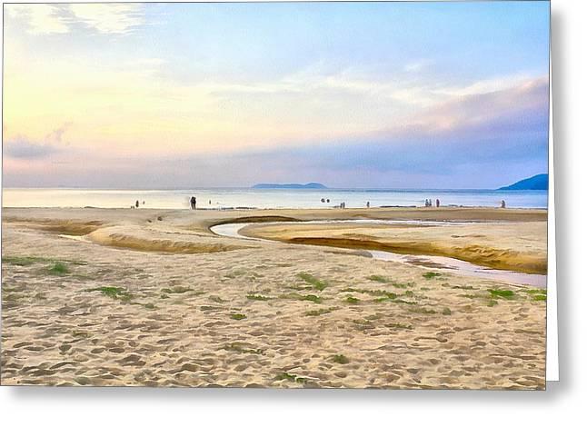 China Beach Greeting Cards - Beach Tioman Island Greeting Card by Sergey Lukashin