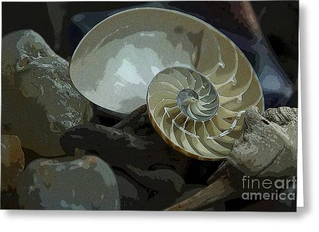 Agate Beach Greeting Cards - Beach Treasures Greeting Card by Jeanette French