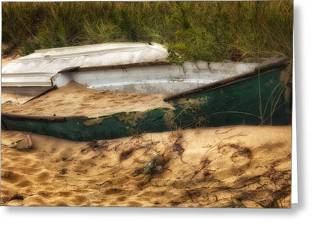 Beached Greeting Card by Bill  Wakeley