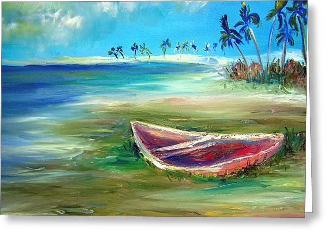 Patricia Taylor Greeting Cards - Beached Greeting Card by Patricia Taylor