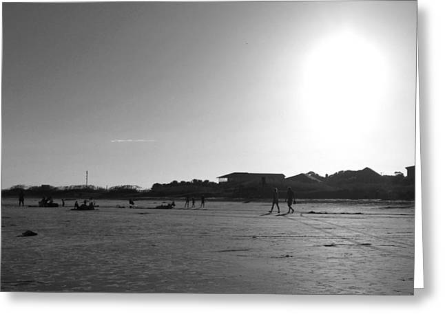 Kelly Photographs Greeting Cards - Beachfront Greeting Card by Kelly Howe