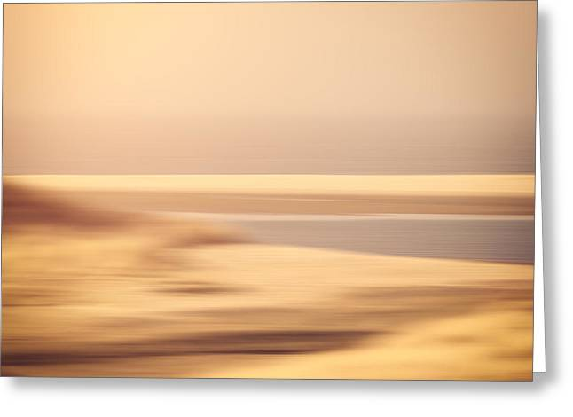 Beachscape Greeting Card by Wim Lanclus