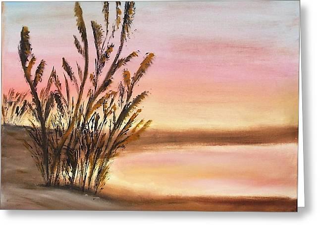 Beachweeds  Greeting Card by Susan Hart