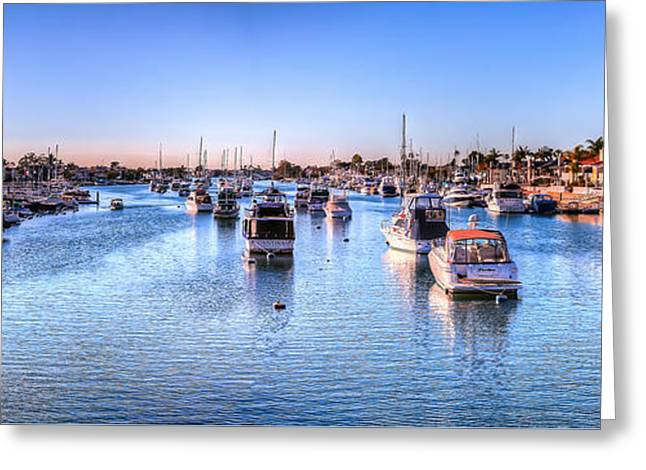 Beacon Bay Greeting Card by Jim Carrell
