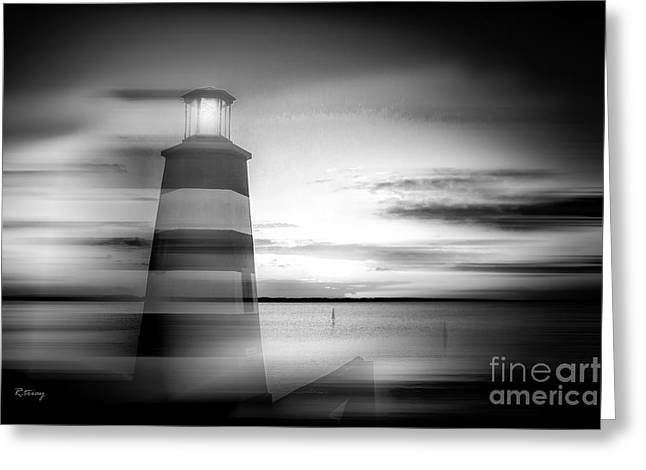 Isla Morada Greeting Cards - Beacon of Hope II Greeting Card by Rene Triay Photography