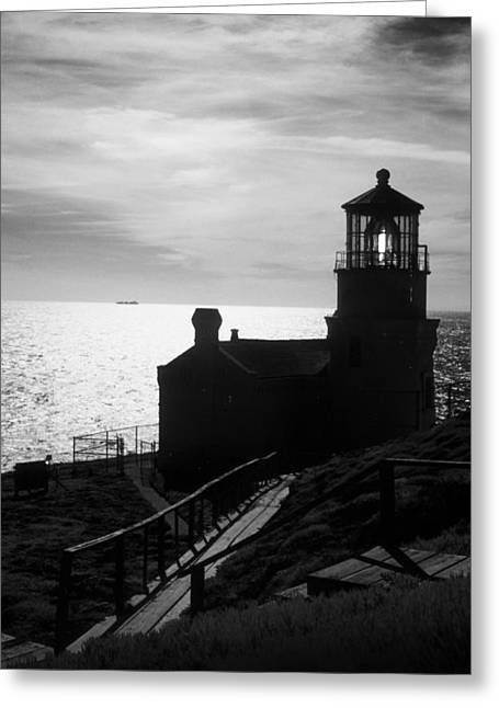 Aid To Navigation Greeting Cards - Beacon of Hope Greeting Card by Jerry McElroy