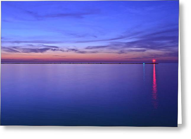 Tremendous Greeting Cards - Beacon of Light Greeting Card by Frozen in Time Fine Art Photography