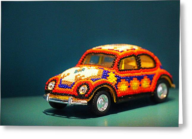 Smithsonian Museum Greeting Cards - Bead Car Greeting Card by Iryna Burkova