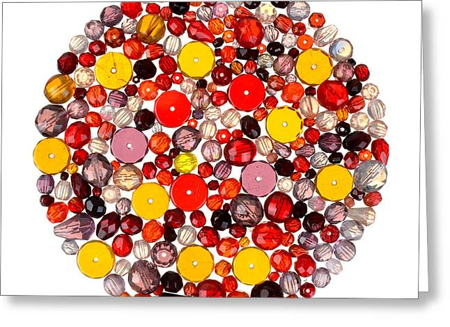 Beads Greeting Cards - Beads Greeting Card by Jim Hughes