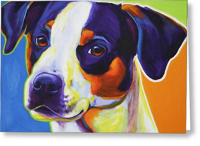 Alicia Vannoy Call Greeting Cards - Beagle - Lady Baillee Greeting Card by Alicia VanNoy Call
