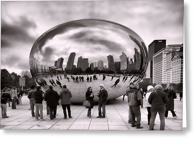 Bean Stalking Greeting Card by Peter Chilelli