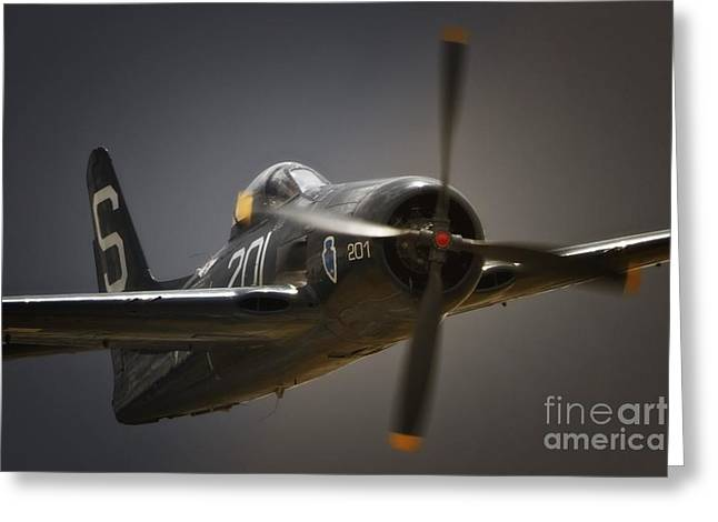Planes Of Fame Greeting Cards - Bearcat Bounce Greeting Card by Gus McCrea