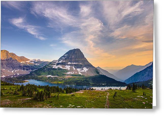 Hdr Landscape Greeting Cards - Bearhat Mountain Greeting Card by Adam Mateo Fierro