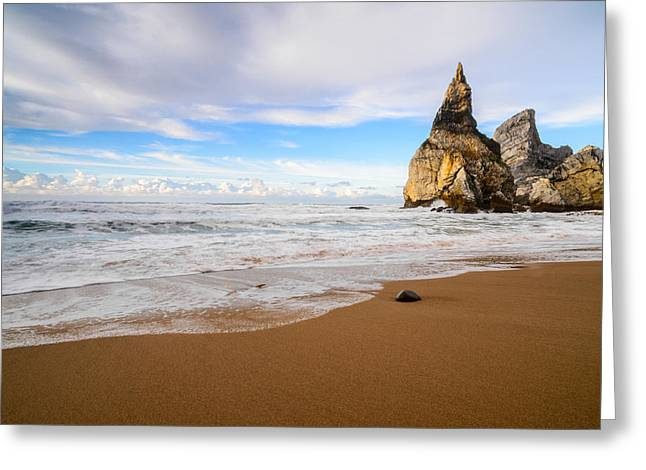 Atlantic Beaches Greeting Cards - Bears Beach V Greeting Card by Marco Oliveira