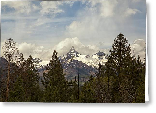 Beartooth Mountain Greeting Card by Natural Focal Point Photography