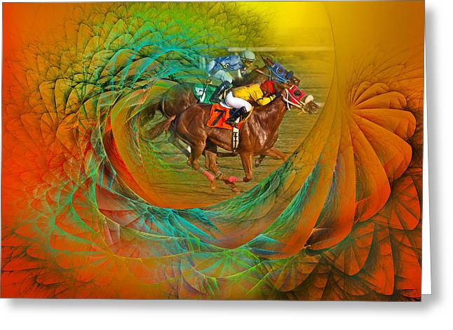 Beating The Equation  Greeting Card by Betsy Knapp