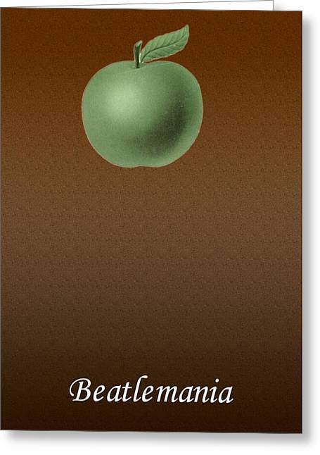 Paul Mc Cartney Greeting Cards - Beatlemania Greeting Card by Allen Beilschmidt