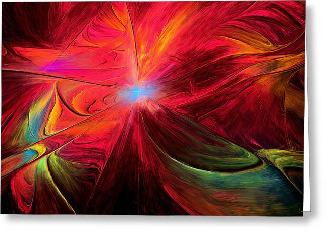 Imagination Greeting Cards - Beaute Des Couleurs Greeting Card by Lourry Legarde