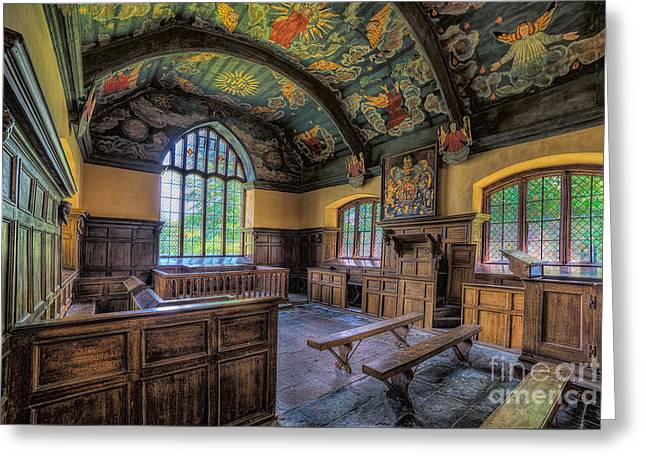Beautiful 17th Century Chapel Greeting Card by Adrian Evans